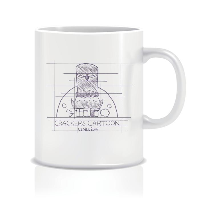 果嗑漫畫創始logo馬克杯(即將開賣)