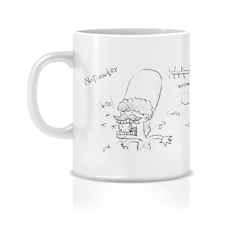 果嗑漫畫角色馬克杯(即將開賣)